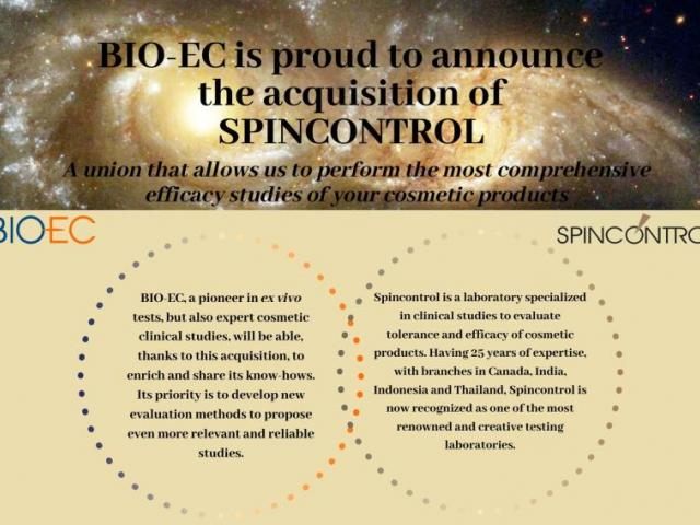 BIO-EC acquired Spincontrol Group